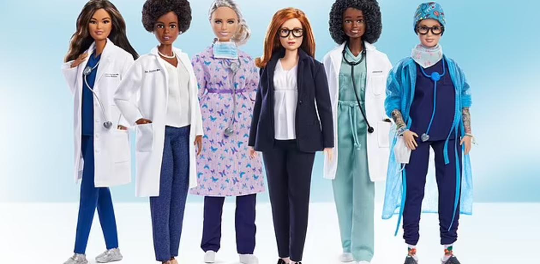 Новая линейка кукол Barbie представляет женщин в науке и медицине