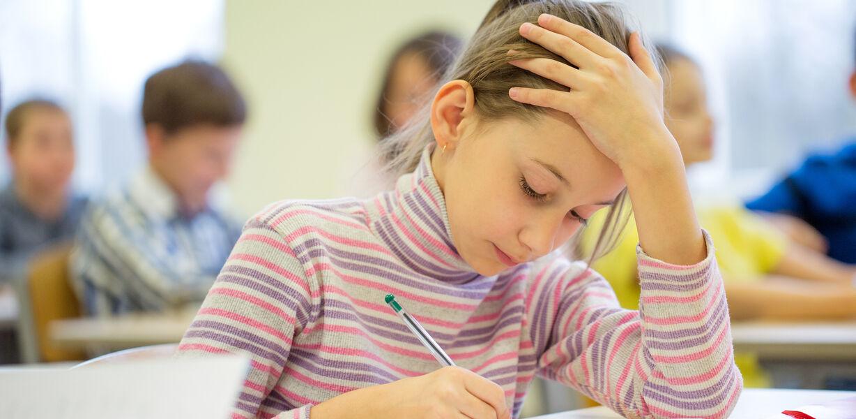 Каждый третий школьник отстает в учебе